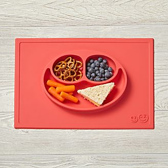 kids placemats plates utensils crate and barrel