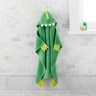 Baby Dinosaur Hooded Towel