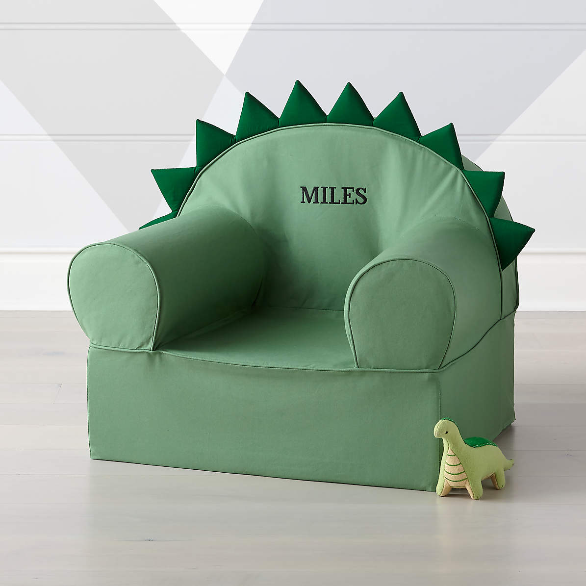 Large Dino Nod Chair + Reviews  Crate and Barrel