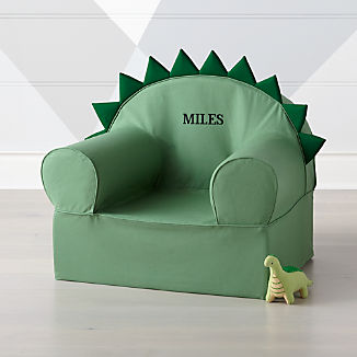 Large Dino Nod Chair kids & Personalized Kids Armchairs: The Nod Chair | Crate and Barrel