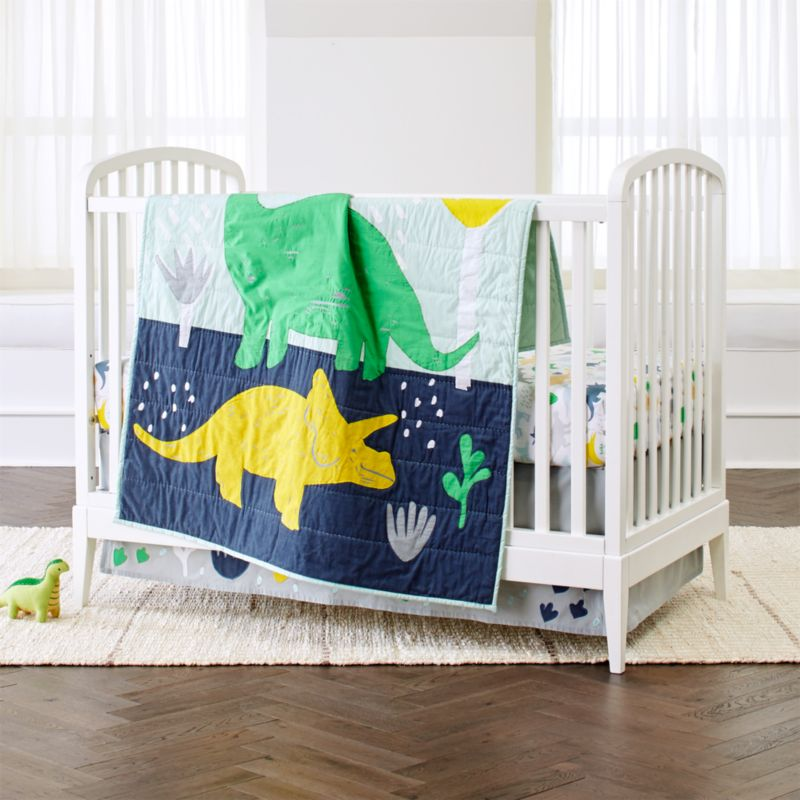 Dinosaur Crib Bedding Crate And