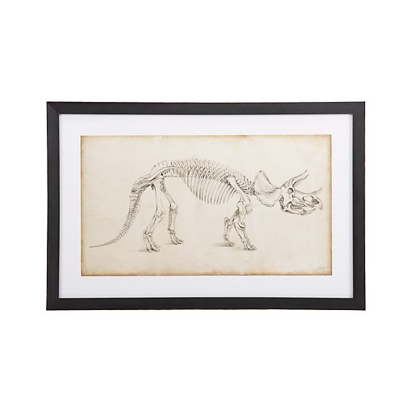 Dinosaur Study II Print