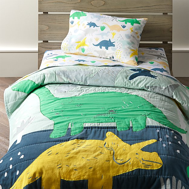 Dinosaur Toddler Bedding Crate And Barrel