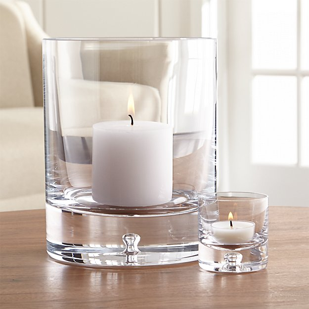 Direction Glass Candle Holders - Image 1 of 12