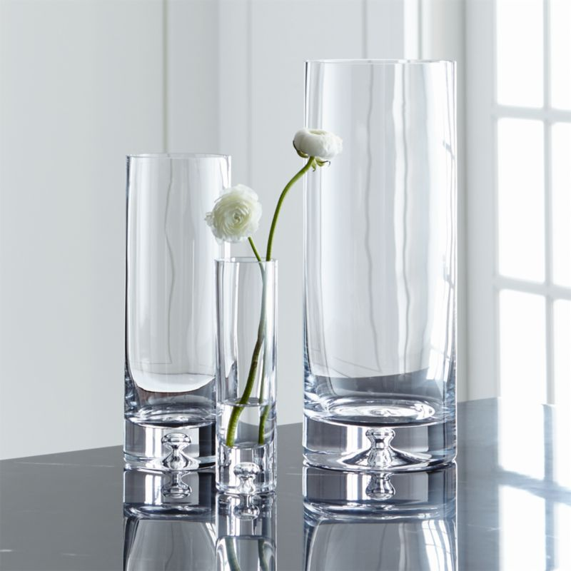Direction Simple Glass Vases Crate And Barrel