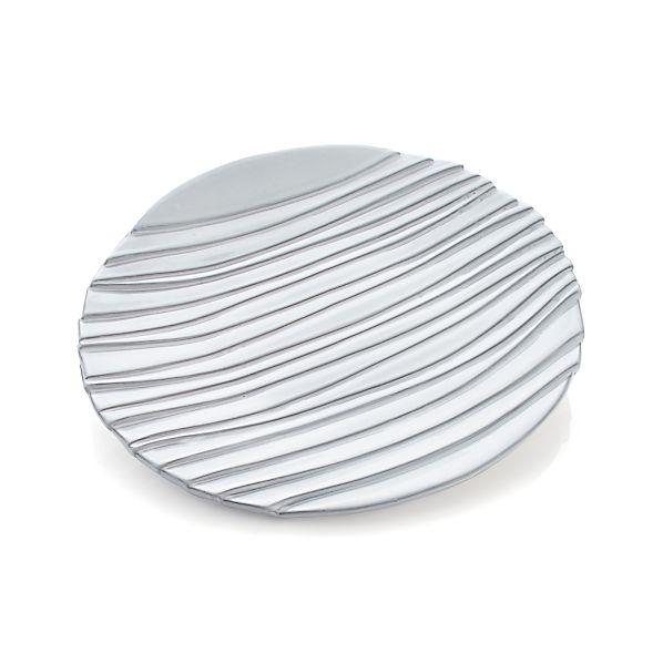 Divvy White Platter