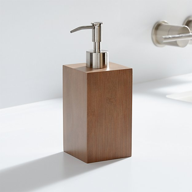 Dixon Bamboo Soap Dispenser