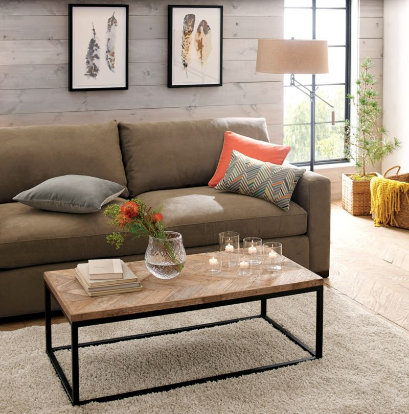 Dixon Coffee Table Reviews Crate and Barrel