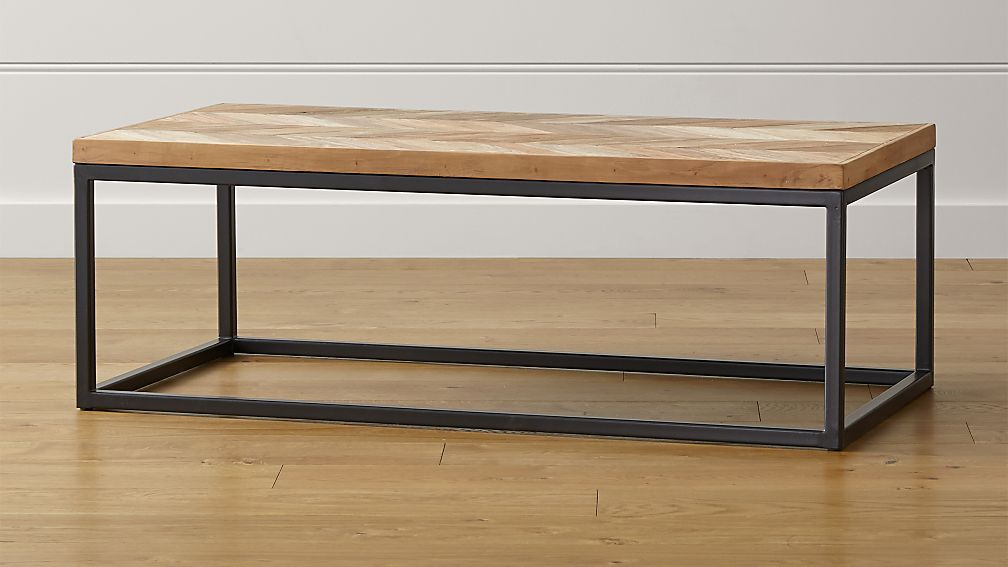 dixon coffee table | crate and barrel