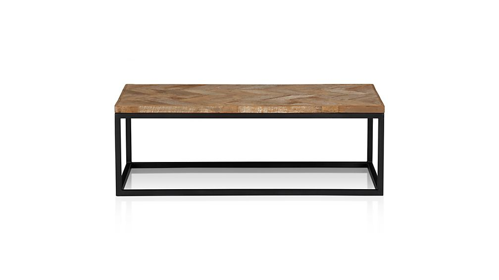 Dixon coffee table crate and barrel for Coffee table crate and barrel