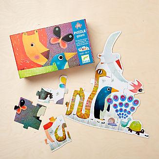 Djeco Animal Parade Giant Floor Puzzle
