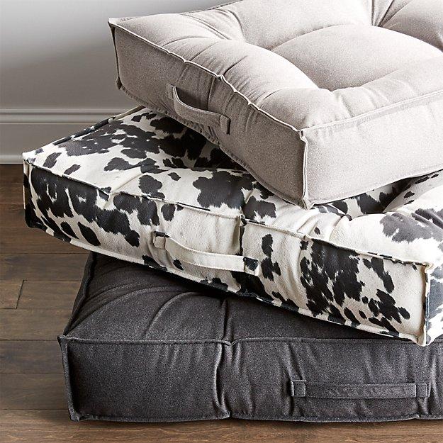 Piazza flint medium dog bed crate and barrel for Crate and barrel dog