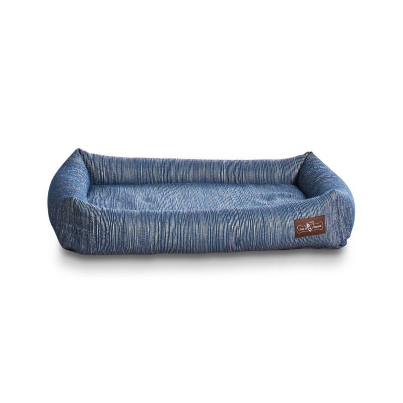 Cuddler Silhouette Indigo Microfoam Medium Dog Bed