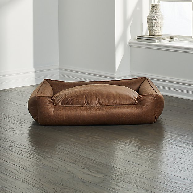 Astounding Faux Leather Dog Bed Cjindustries Chair Design For Home Cjindustriesco