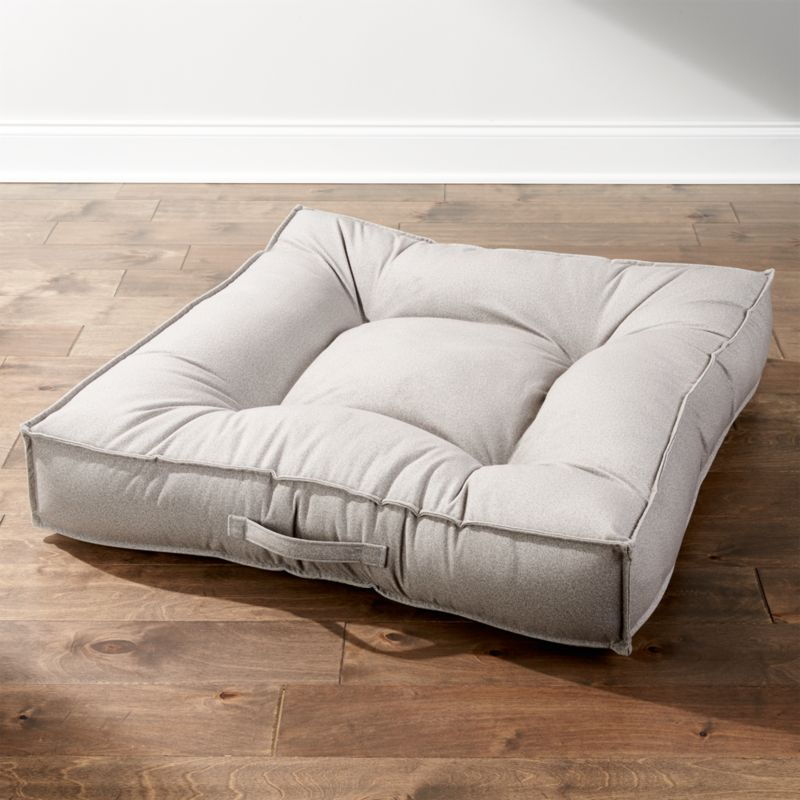 Piazza shadow large dog bed reviews crate and barrel for Crate and barrel dog bed