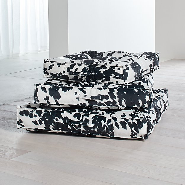 b50ee1077b43 Piazza Tufted Dog Beds | Crate and Barrel
