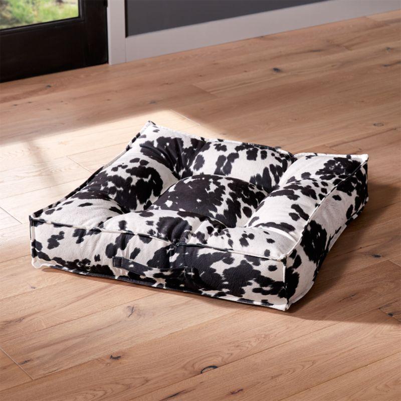 Piazza wrangler medium dog bed reviews crate and barrel for Crate and barrel dog bed