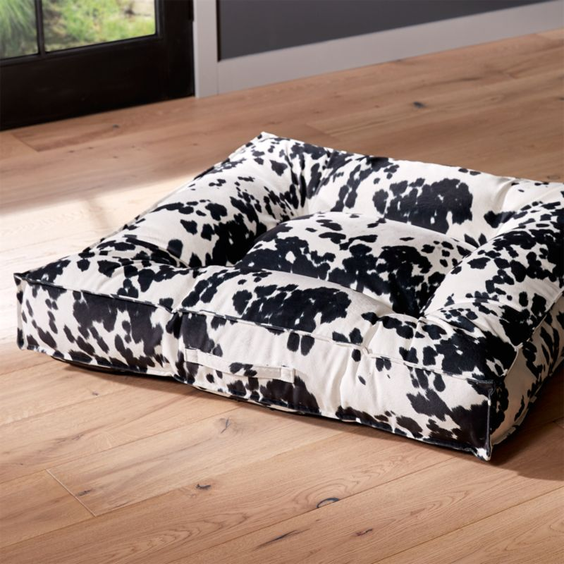 Piazza wrangler extra large dog bed reviews crate and for Crate and barrel dog bed