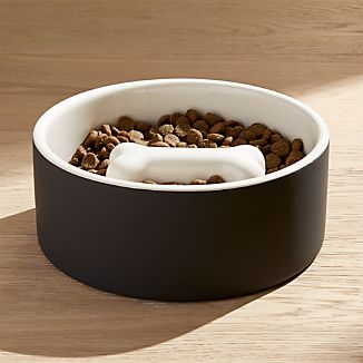 Large Bone Dog Food Bowl
