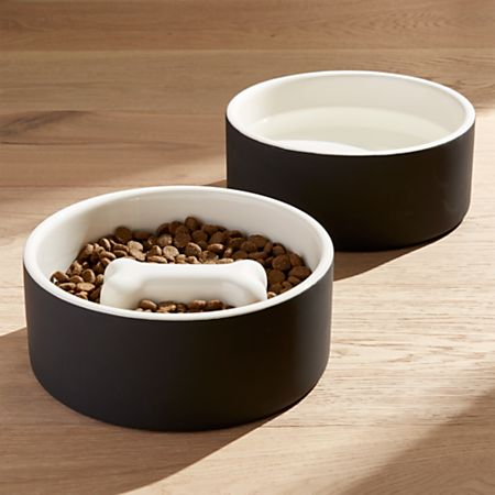 Magisso Large Dog Food And Water Bowls