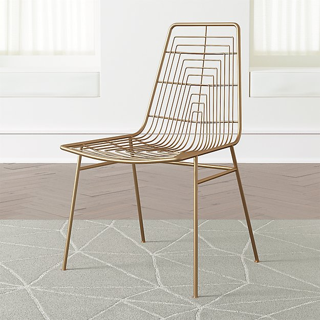 Kids Domino Gold Desk Chair - Image 1 of 6