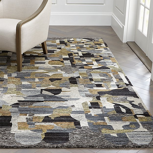 Domus Multicolor Geometric Rug Crate And Barrel