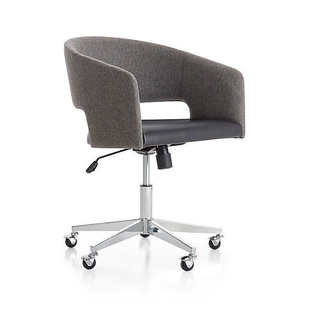 Don Upholstered Office Chair - Image 1 of 10
