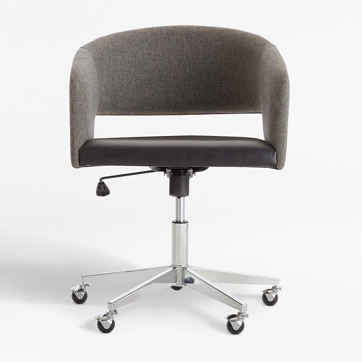Don Upholstered Office Chair Reviews Crate And Barrel