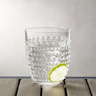Dottie Clear Acrylic 17 oz. Drink Glass