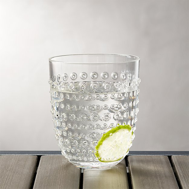 Dottie Clear Acrylic 17 oz. Drink Glass - Image 1 of 5