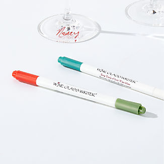 Double-Sided Wine Glass Writers, Set of 2