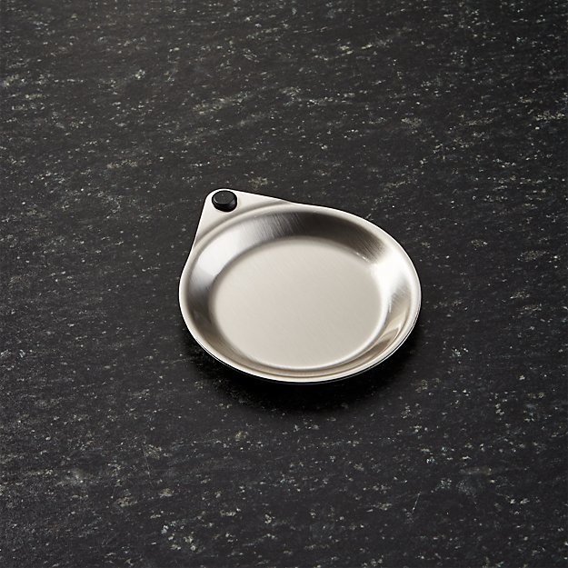 Two Fold Stainless Steel Spoon Rest