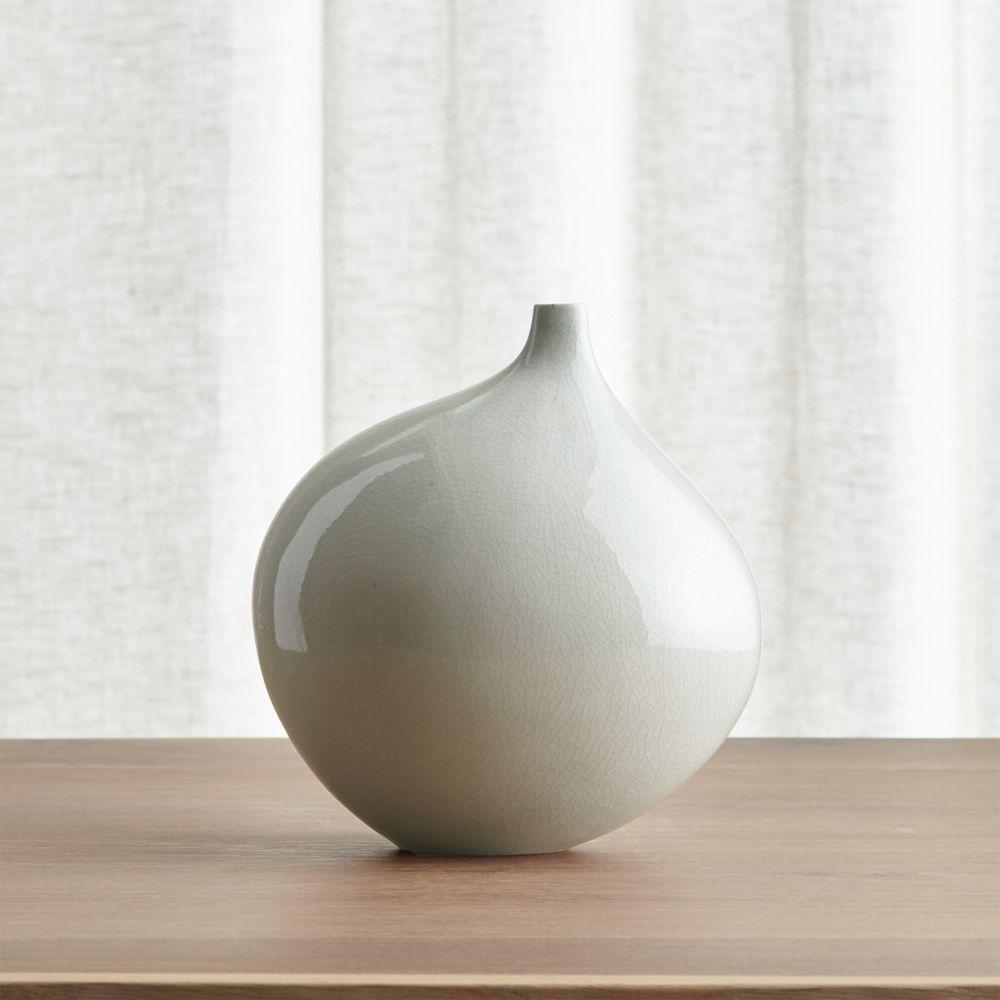 Online Designer Combined Living/Dining Dove Grey Small Vase