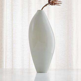Marvelous Dove Tall Grey Vase