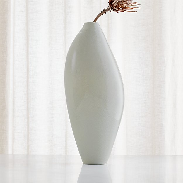 Dove Tall Grey Vase - Image 1 of 6