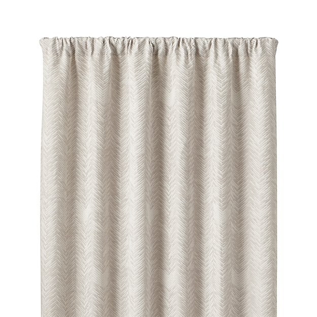 Dover Cream Taupe 50x108 Curtain Panel Reviews