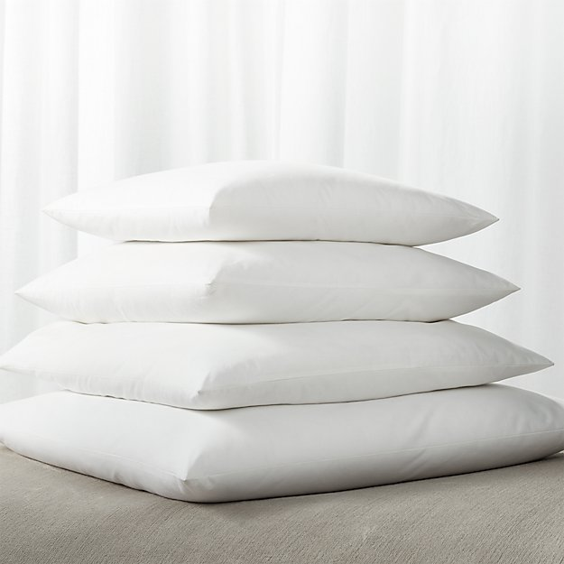 Down-Alternative Square Pillow Inserts - Image 1 of 1