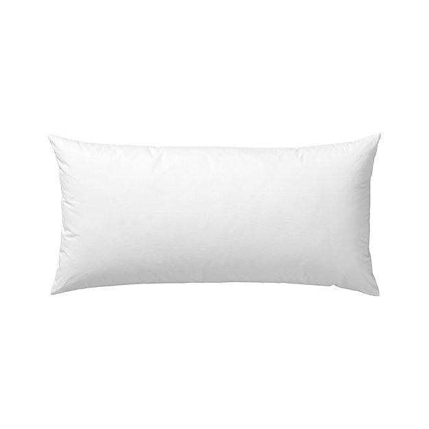 "Down-Alternative 24""x12"" Pillow Insert - Image 1 of 1"