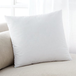 down alternative 16 pillow insert reviews crate and barrel. Black Bedroom Furniture Sets. Home Design Ideas