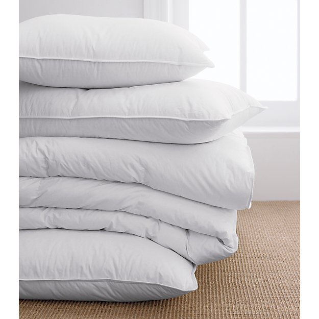 Feather Down Rectangular Pillow Inserts Crate And Barrel