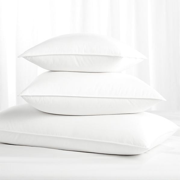Feather-Down Bed Pillows