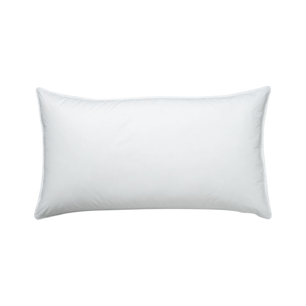 Feather-Down King Pillow - Crate and Barrel