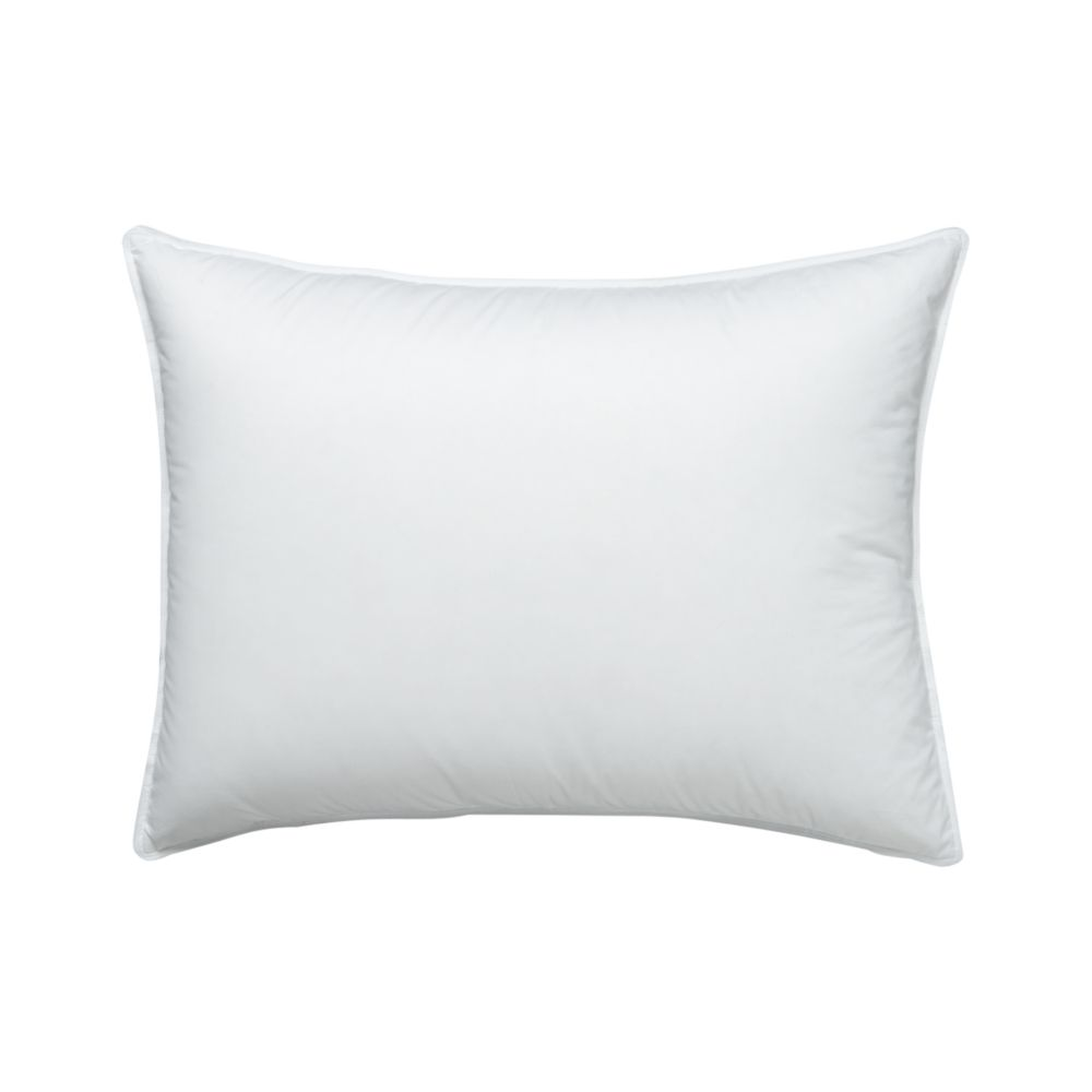 Feather-Down Standard Pillow - Crate and Barrel