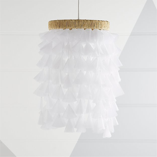 Dreamy fabric chandelier reviews crate and barrel aloadofball Gallery