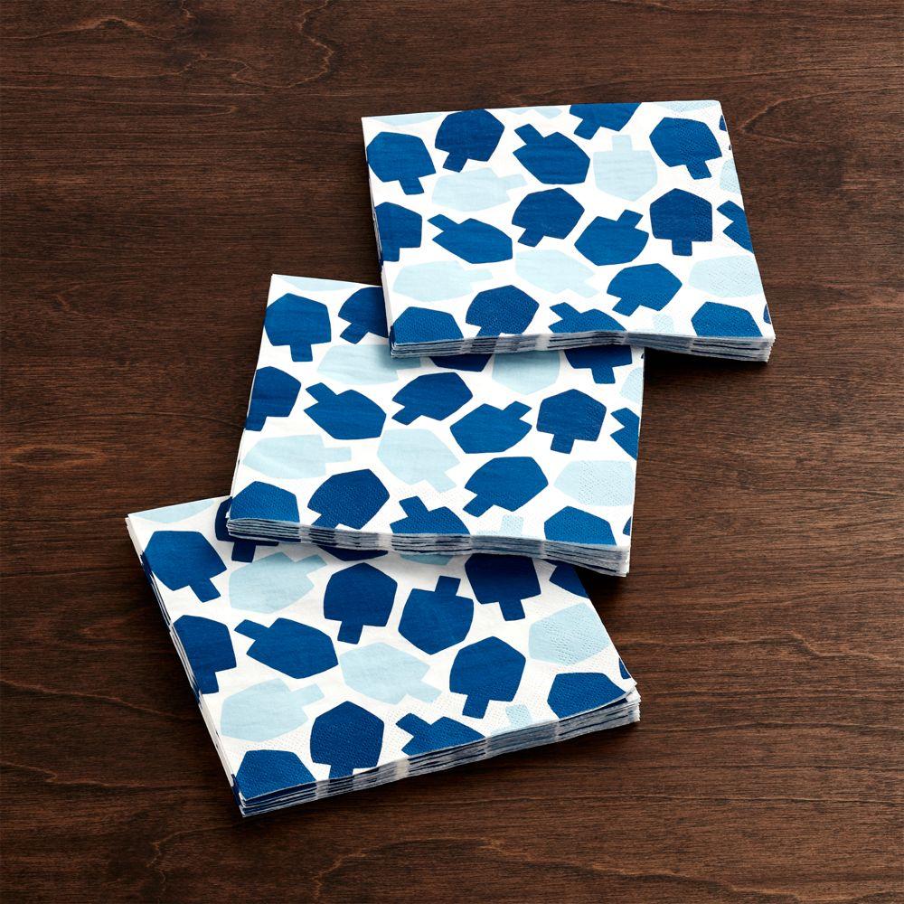 Dreidel Paper Lunch Napkins Set of 20
