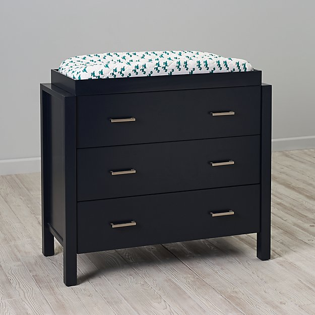 Kids Uptown 3 Drawer Dresser (Midnight Blue) + Reviews | Crate And Barrel