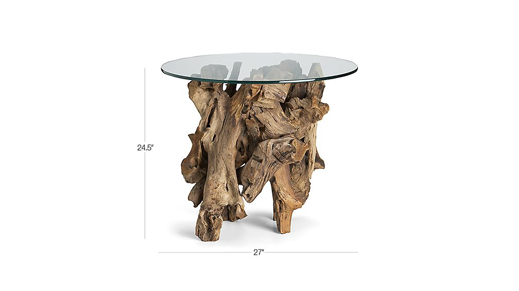 driftwood occasional tables