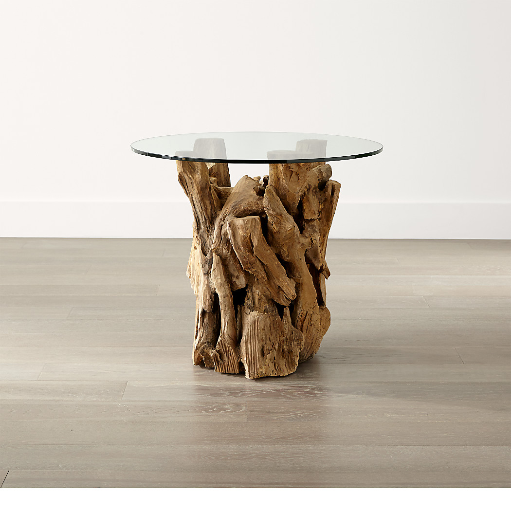 Crate and barrel driftwood coffee table - Driftwood Round Side Table 399 00 Each Driftwoodsidetableshsh15_16x9 Tap To Zoom Driftwoodendtablesc09