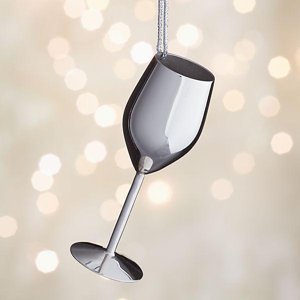 Wine Drink Ornament