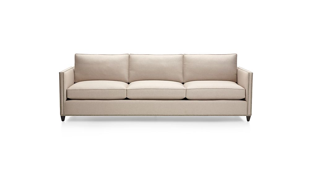 "Dryden 3-Seat 103"" Grande Sofa with Nailheads"